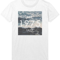 The 1975 Ocean Logo T-Shirt - 1975 band Indie Rock Music Shirt / Sweatshirt - Mens / Womens