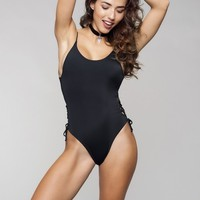 JYork x Dbrie Black Skimpy One Piece - Pia