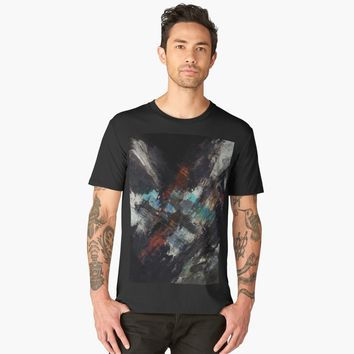 'Hypnotzd Abstract 99' Men's Premium T-Shirt by hypnotzd