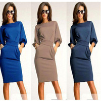 Modern Bodycon Office Party Dress