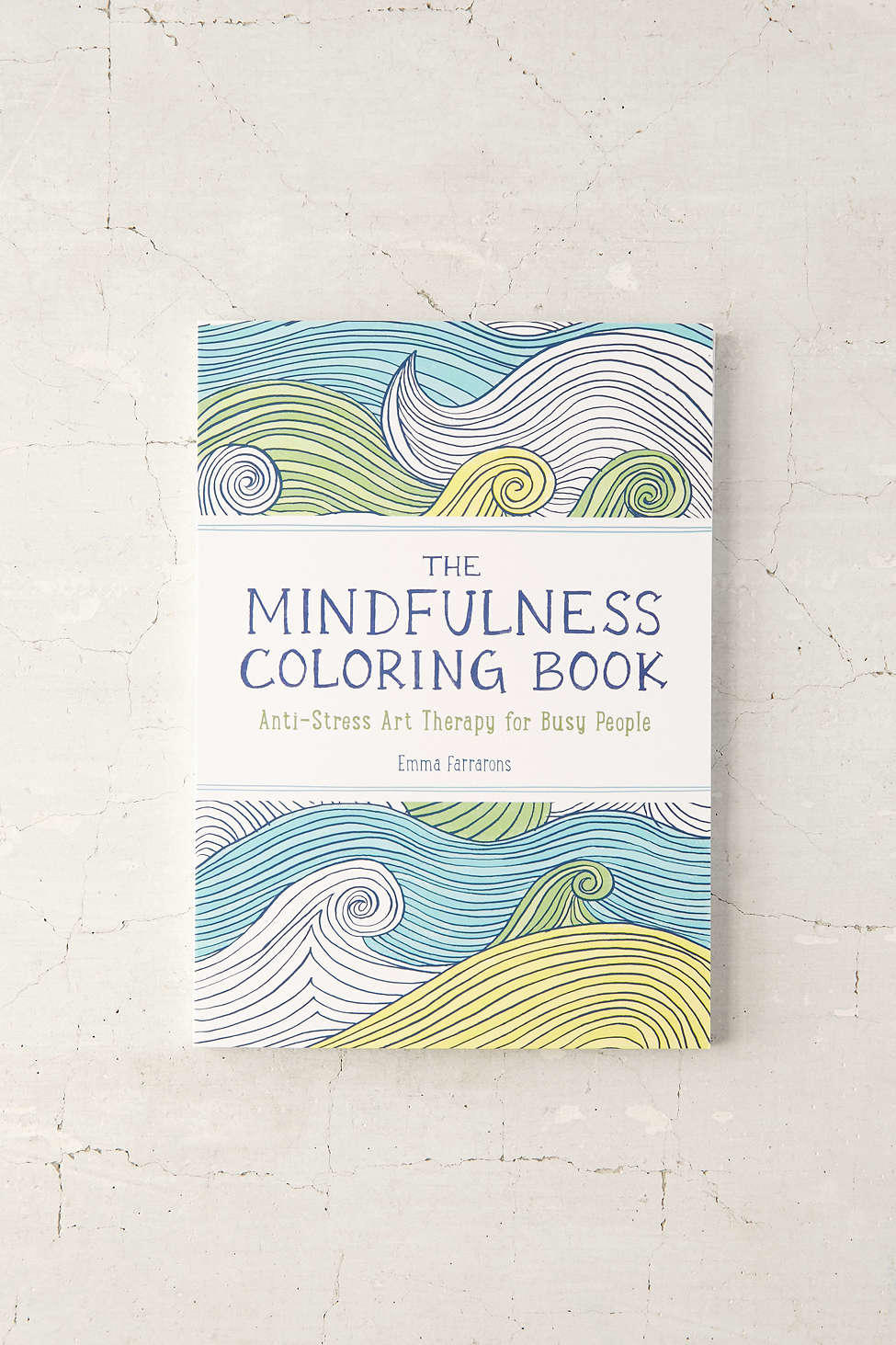 The Mindfulness Coloring Book From Urban Outfitters