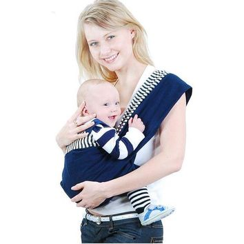 DCCKFS2 Organic Cotton Baby Carrier Backpack  Adjustable Kangaroo Newborn Sling Wrap Multifunction infant Baby sling