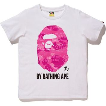 TEXT COLOR CAMO BY BATHING TEE LADIES