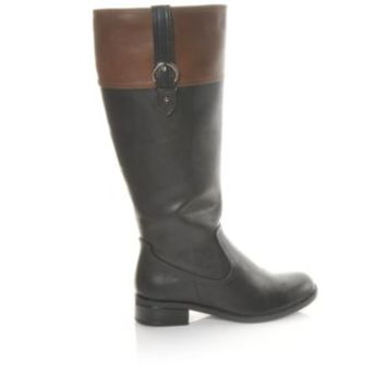 Women's Solanz Gertrude Black/Tan | Shoe Carnival