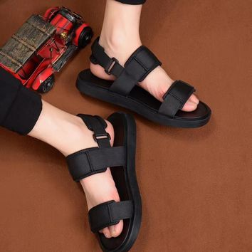 PRADA real leather sandals 2018 main push new