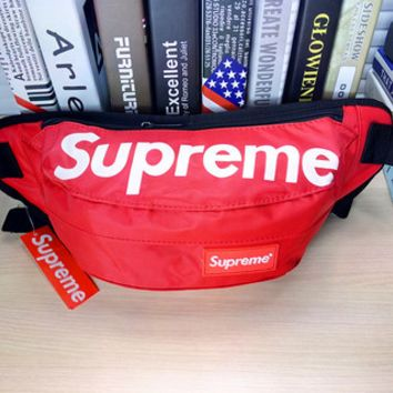 Red Canvas Supreme Crossboy Shoulder Chest Bag