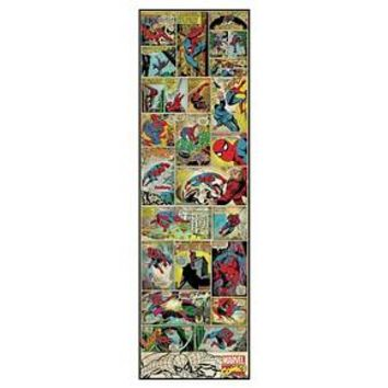 RoomMates Marvel Comic Panel - Spiderman Classic Peel and Stick Giant Wall Decal : Target