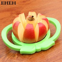 Stainless Steel Apple Fruit Cut Knife Kitchen Accessories Tool Gadgets Fruit Tools Vegetable Spiralizer Slicer Tool EH050