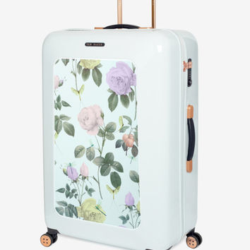 Large distinguishing rose suitcase - Mint | Bags | Ted Baker UK
