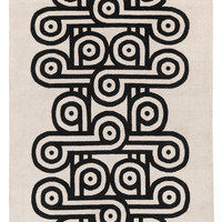Charlie Black by Jonathan Adler | Wool Contemporary rugs