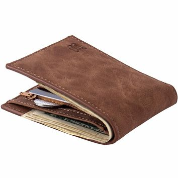 Coin Bag zipper 2017 men wallets mens wallet small money purses wallet