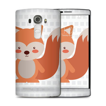 What does the Red Tailed Fox Say Skin for the LG