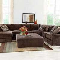 Everest 3 Pc. Sectional (Reverse) - Sectionals - Living Room - mobile - theroomplace - Product Groups