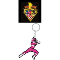 Mighty Morphin Power Rangers Rubber Keychain Pink Ranger