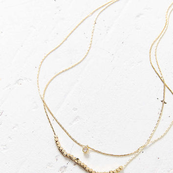 Grace Short Layering Necklace - Urban Outfitters