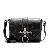 Obsedia Leather Shoulder Bag ✽ Givenchy » mytheresa