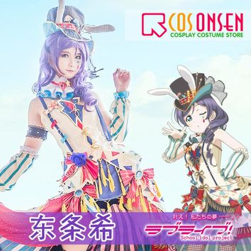 COSPLAYONSEN Love Live!  Circus Ver. After Awakening Dress Toujou Nozomi Cosplay Costume All Sizes
