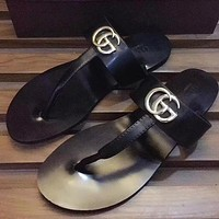 GUCCI Woman Men Fashion Sandals Slipper Shoes