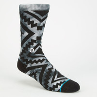Stance Sutter Mens Athletic Socks Charcoal One Size For Men 25224311001