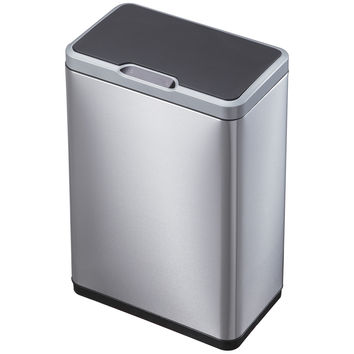 Kitchen Trash Cans With Lids Stainless Steel Motion Sensor EKO Smart Touchless
