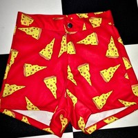 SWEET LORD O'MIGHTY! PIZZA BOOTY SHORTS