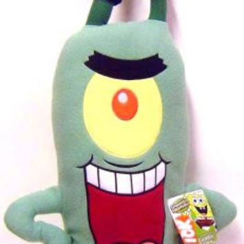 Spongebob Plankton Cuddle Pillow Figure