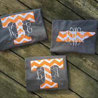 Tennessee Vols Monogrammed Shirt