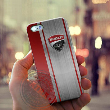 Ducati Corse Red Logo Case for Iphone 4, 4s, Iphone 5, 5s, Iphone 5c, Samsung Galaxy S3, S4, S5, Galaxy Note 2, Note 3.