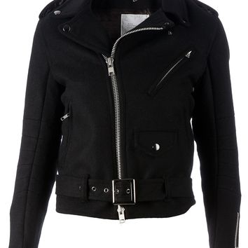 Sacai Wool Biker Jacket