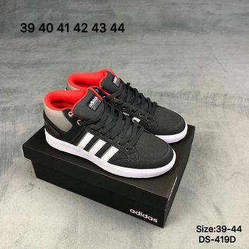 Adidas Original Men Women CF ALL COURT MID School Style Fashion Casual  Skate shoes Black  538973d00523