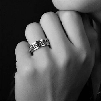 Womens Mens Stainless Steel Ring Uniquering-103