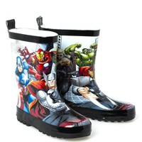 New Fashion Baby Boys and Girls Cartoon Rain Boots Kids Rubber Non-slip Shoes  Autumn Spring Children Waterproof Shoes