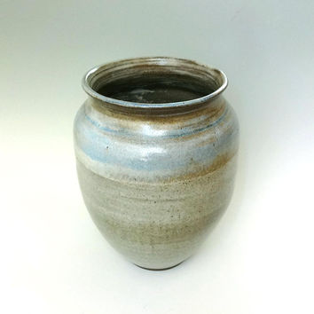 Extra large vase, large ceramic vase, handmade, blue ceramic vase, large pottery vase, tall ceramic vase