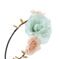 Braided Rose Crown