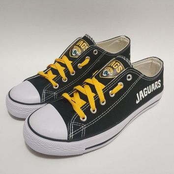 Newest 2018 2019 men women unisex Jacksonville Jaguars printed diy Shoes for fans gift size 35-44 chinese size
