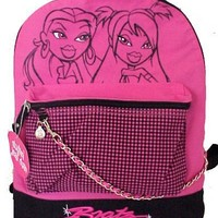 Funky Bratz Backpack - School Back Pack for Girls with Passion for Fashion