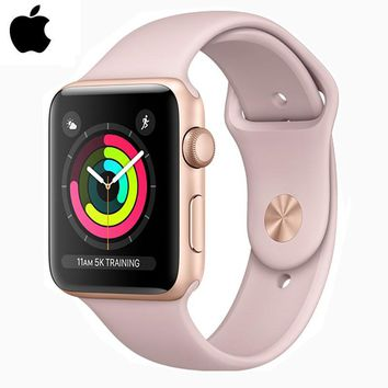 APPLEWATCH SERIES 3 APPLE 8GB 42MM SMART WATCHES FITNESS TRACKER PASSOMETER ACTIVITY WRISTBAND HEART RATE SENSOR SPORTS GPS