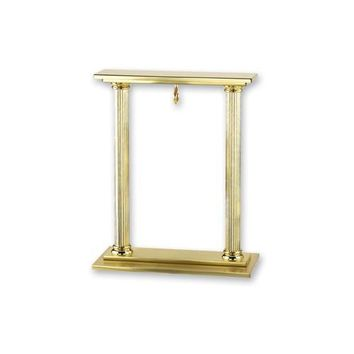 Charles Hubert 14k Gold-Plated Brass Pocket Watch Holder Stand