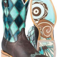 Women's BootsTin Haul Brown It's A Hoot