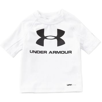 Under Armour Baby Boys 12-24 Months Logo Rashguard Tee | Dillards