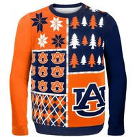 Auburn Tigers Orange Busy Block Ugly Sweater