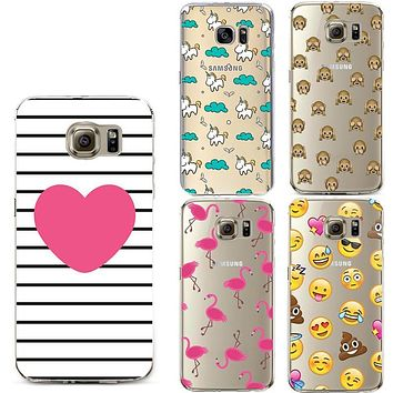 TPU Silicone Soft Case for Coque iPhone 7 6 6S Plus 5S 5C 5 4S SE Cover For Samsung Galaxy S5 S6 S7 Edge A3 A5 j3 J5 2016 2017