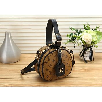 LV Louis Vuitton Trending Women Stylish Monogram Leather Handbag Shoulder Bag Crossbody Satchel
