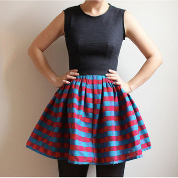 Price ReducedCotton and Denim DressSuper Sale by Leanimal on Etsy