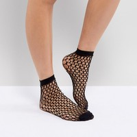 Jonathan Aston Echo Net Ankle Sock at asos.com