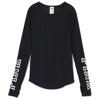 Fitted Long Sleeve Tee - PINK - Victoria's Secret