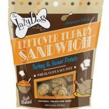 Leftover Turkey Sandwich Dog Treats