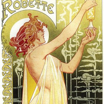 11x14 Vintage French Advertisements Absinthe by curiousprints