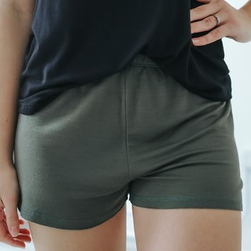 Say It Ain't So Shorts - Olive