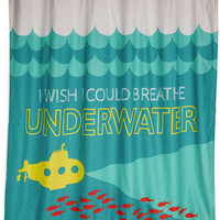 ModCloth Nautical Livin' the Clean Shower Curtain